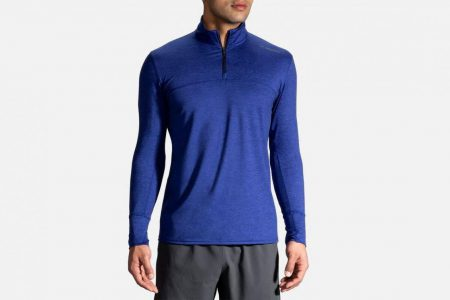 Mens Outerwear | Brooks Dash 1/2 Zip Running Outerwear 493