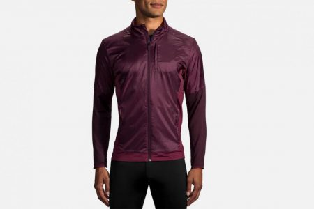 Mens Outerwear | Brooks Fusion Hybrid Jacket Running Outerwear 504