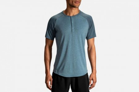 Mens Tops | Brooks Cadence Short Sleeve Running Tops 84