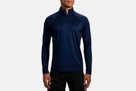 Mens Tops | Brooks Dash 1/2 Zip Running Outerwear 451