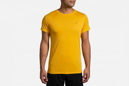 Mens Tops | Brooks Distance Graphic Tee Running Tops 764