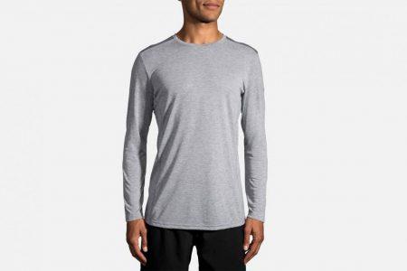 Mens Tops | Brooks Distance Long Sleeve Running Tops 24