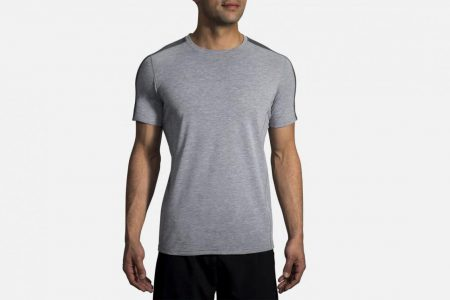 Mens Tops | Brooks Distance Short Sleeve Running Tops 24