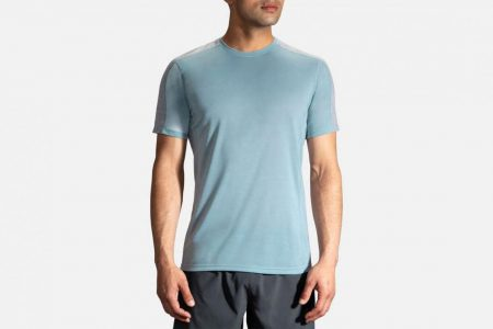 Mens Tops | Brooks Distance Short Sleeve Running Tops 30