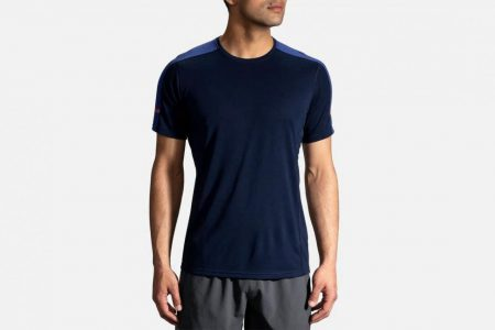 Mens Tops | Brooks Distance Short Sleeve Running Tops 408