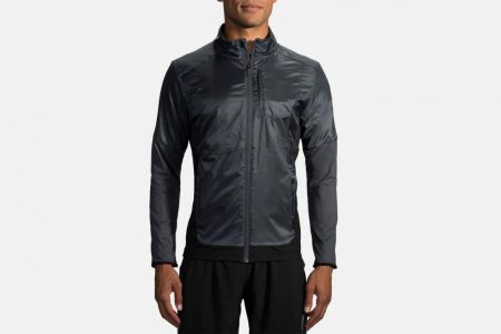 Mens Tops | Brooks Fusion Hybrid Jacket Running Outerwear 12