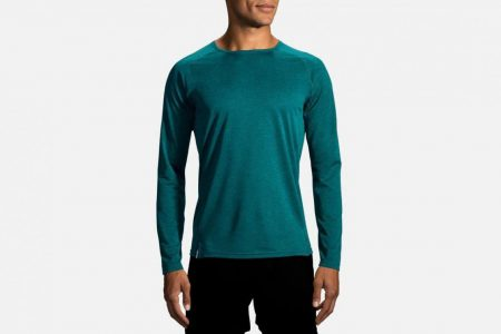 Mens Tops | Brooks Ghost Long Sleeve Running Tops 353