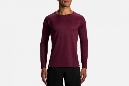 Mens Tops | Brooks Ghost Long Sleeve Running Tops 525