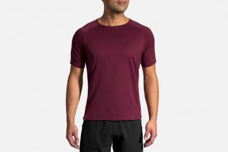 Mens Tops | Brooks Ghost Short Sleeve Running Tops 525