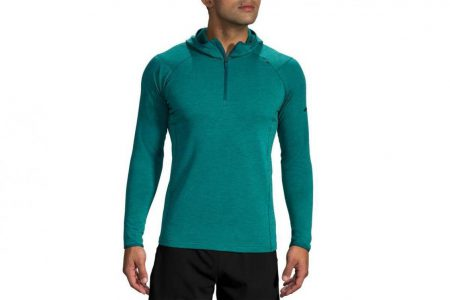 Mens Tops | Brooks Notch Thermal Hoodie Running Outerwear 353