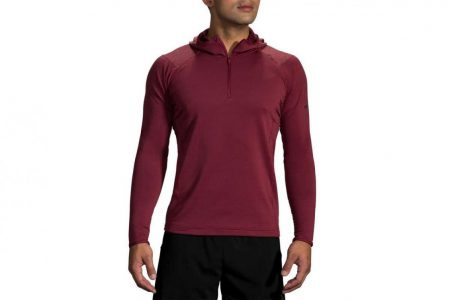 Mens Tops | Brooks Notch Thermal Hoodie Running Outerwear 569