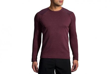 Mens Tops | Brooks Notch Thermal Long Sleeve Running Outerwear 547