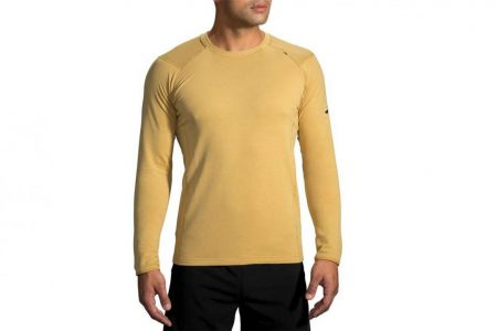 Mens Tops | Brooks Notch Thermal Long Sleeve Running Outerwear 731