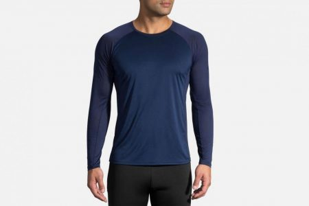 Mens Tops | Brooks Stealth Long Sleeve Running Tops 451
