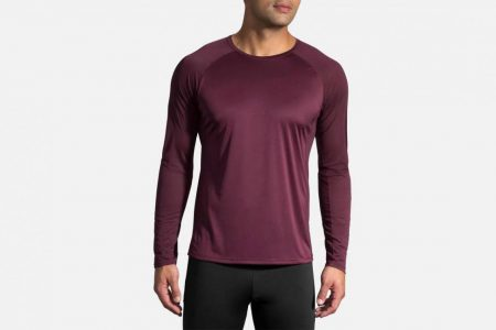 Mens Tops | Brooks Stealth Long Sleeve Running Tops 548