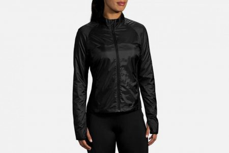 Womens Outerwear | Brooks Fusion Hybrid Jacket Running Outerwear 1