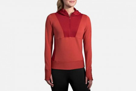 Womens Outerwear | Brooks Notch Thermal Hoodie Running Outerwear 688