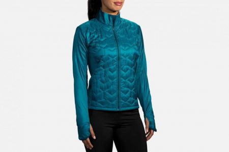 Womens Outerwear | Brooks Shield Hybrid Jacket Running Outerwear 396