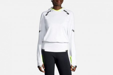 Womens Tops | Brooks Carbonite Hoodie Running Outerwear 753