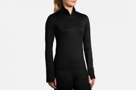 Womens Tops | Brooks Dash 1/2 Zip Running Outerwear 1