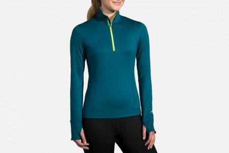 Womens Tops | Brooks Dash 1/2 Zip Running Outerwear 341