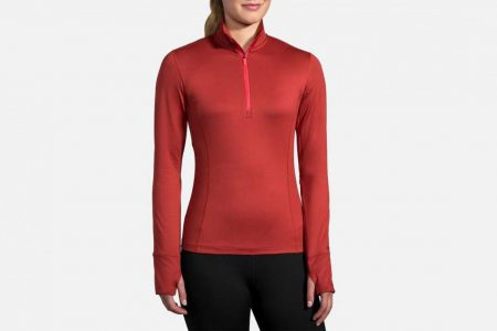 Womens Tops | Brooks Dash 1/2 Zip Running Outerwear 699