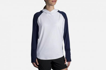 Womens Tops | Brooks Dash Hoodie Running Tops 114