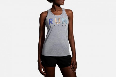 Womens Tops | Brooks Distance Graphic Tank Running Tops 51
