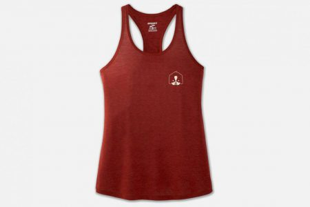 Womens Tops | Brooks Distance Graphic Tank Running Tops 652