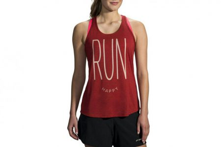 Womens Tops | Brooks Distance Graphic Tank Running Tops 668