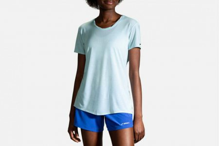 Womens Tops | Brooks Distance Short Sleeve Running Tops 415