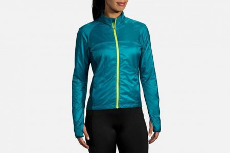 Womens Tops | Brooks Fusion Hybrid Jacket Running Outerwear 396