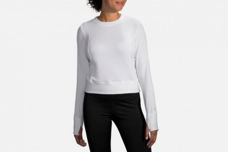 Womens Tops | Brooks Notch Thermal Long Sleeve Running Outerwear 100