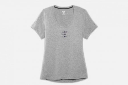 Womens Tops | Brooks Run Happy Graphic Tee Running Tops 44