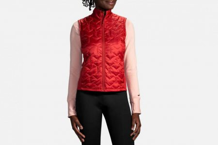 Womens Tops | Brooks Shield Hybrid Vest Running Outerwear 655