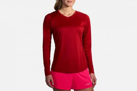 Womens Tops | Brooks Stealth Long Sleeve Running Tops 611