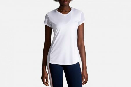 Womens Tops | Brooks Stealth Short Sleeve Running Tops 100