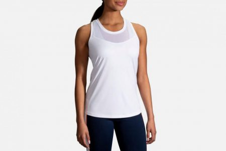 Womens Tops | Brooks Stealth Tank Running Tops 100