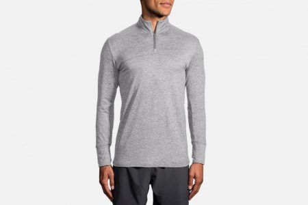 Mens Tops | Brooks Dash 1/2 Zip Running Outerwear 80