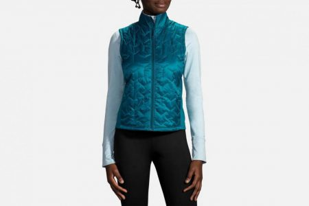 Womens Outerwear | Brooks Shield Hybrid Vest Running Outerwear 396