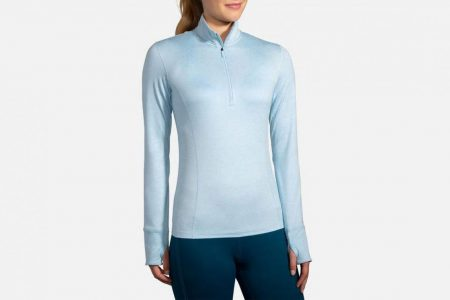 Womens Tops | Brooks Dash 1/2 Zip Running Outerwear 484