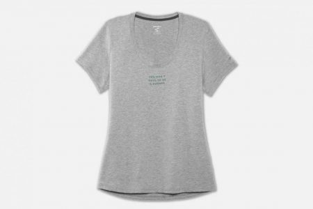 Womens Tops | Brooks Run Happy Graphic Tee Running Tops 55